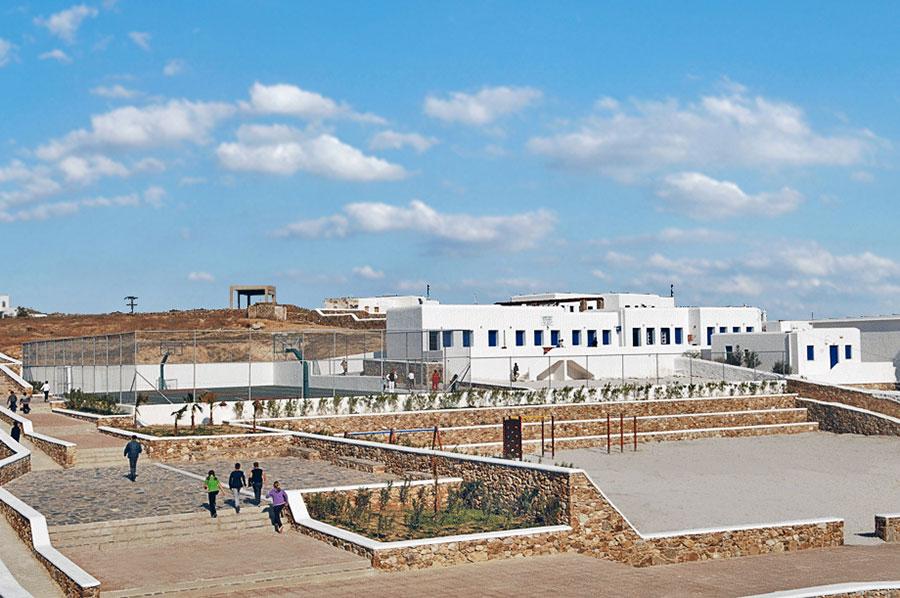 School Complex of Ano Mera, Mykonos